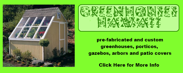 pre-fabricated and custom greenhouses, porticos, gazebos, arbors and patio covers